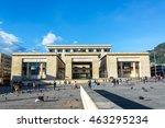 bogota  colombia   april 21 ... | Shutterstock . vector #463295234