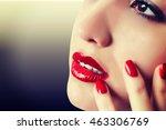 beautiful woman.make up | Shutterstock . vector #463306769