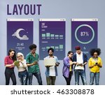 design layout mobile interface...