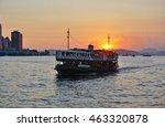 hong kong  28 july 2016  a view ... | Shutterstock . vector #463320878