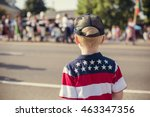 Child Watching An Independence...