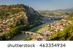 Small photo of Panorama of the historic city of Berat in Albania