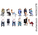 business picture united company  | Shutterstock . vector #463361378