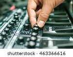 tuning guitar effect pedal for... | Shutterstock . vector #463366616