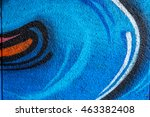 beautiful street art of... | Shutterstock . vector #463382408