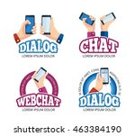 vector pictures set of logo...