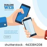 web dialog  chatting. vector...