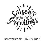 seasons greeting icon | Shutterstock .eps vector #463394054