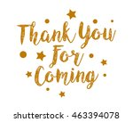 thank you icon 1 | Shutterstock .eps vector #463394078