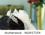 hair accessory for wedding... | Shutterstock . vector #463417154