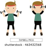 characters of healthy people in ... | Shutterstock .eps vector #463432568