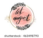 vector illustration card with... | Shutterstock .eps vector #463498793