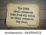 Top 500 Bible Verses. The Lord...