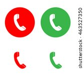 phone icon. answer icon....   Shutterstock .eps vector #463527350