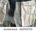 inside jeans denim the details... | Shutterstock . vector #463559753