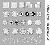 arrow sign icon set vector   Shutterstock .eps vector #463569800