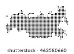map of russia | Shutterstock .eps vector #463580660