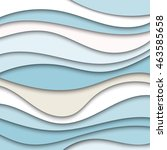 colorful abstract waves texture ... | Shutterstock .eps vector #463585658