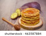 Sweet Potato Pancakes With...