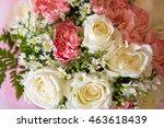 soft color roses background   Shutterstock . vector #463618439