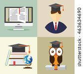 education design concept. ...   Shutterstock .eps vector #463634690