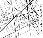 geometric art random...   Shutterstock .eps vector #463645250