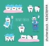 funny teeth set consisting of...