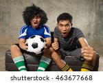 people friend cheering the... | Shutterstock . vector #463677668