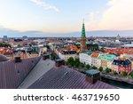 Copenhagen Skyline. Denmark...