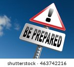 be prepared and ready before... | Shutterstock . vector #463742216