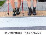 survival leisure trekking... | Shutterstock . vector #463776278