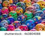 Stock photo mexican culture fiesta colorful colourful traditional mexican hispanic ceramic pottery day of 463804088