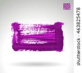 brushstroke and texture. vector ... | Shutterstock .eps vector #463825478