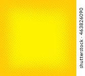 halftone color cartoon retro...   Shutterstock .eps vector #463826090