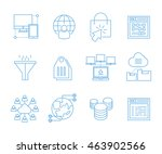 seo icons  web solution icons