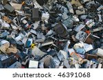 a mix of computer parts and... | Shutterstock . vector #46391068