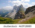 seceda  the dolomites  italy | Shutterstock . vector #463918880