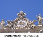 Clock On Facade Of Saint Peter...