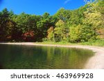 crystal clear waters of the... | Shutterstock . vector #463969928