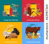 various commodities flat 2x2...