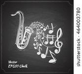 Saxophone Music Concept Sketch...