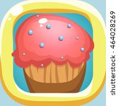 sweet  cake icon vector for...