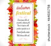 autumn festival. illustration...   Shutterstock . vector #464031758