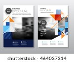 startup presentation layout or... | Shutterstock .eps vector #464037314