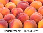 Ripe Peach Fruit Background ...