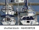 italy  sicily  mediterranean... | Shutterstock . vector #464038928