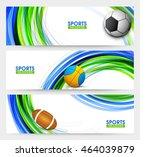 creative website header or... | Shutterstock .eps vector #464039879