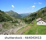 "landscape from ""lake colombo"" ... | Shutterstock . vector #464043413"