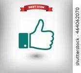 like icon vector | Shutterstock .eps vector #464062070