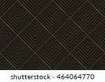 art deco seamless vintage... | Shutterstock .eps vector #464064770